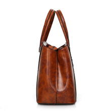 Fashionmall Women's Business New Fashion Handbag Vintage Small Simple Shoulderbag