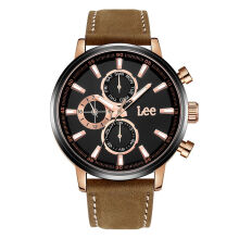 Lee Watch LEF-M125ARL5-1R Jam tangan pria Brown