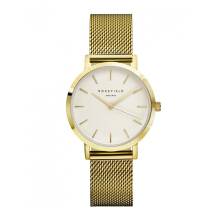 ROSEFIELD The Tribeca Gold White Dial Watch with Gold Strap [TWG-T51]