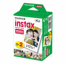 Fujifilm Instax Refill Paper Polos Double Pack isi 20 lembar