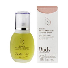 Buds Organic Breast Massage Oil - 30 ml