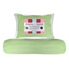 THE LUXE Perfect Sleep Pillow Bolster - Greenery