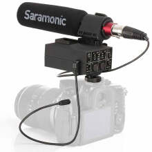 Saramonic MixMic Shotgun Microphone with Adapter