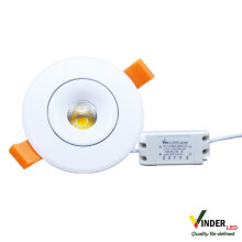 VINDER CEILING SPOT DOWNLIGHT 5W - COB SERIES Yellow