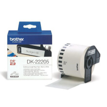 BROTHER Label Tape DK-22205 Continuous Length Paper Tape 62mm