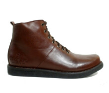 Dr Becco Sepatu Boots Pria Ford - Brown