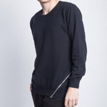 Distort Sweater-Navy