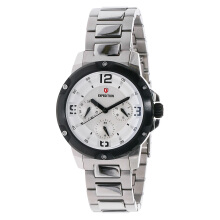 Expedition Ladies White Dial Stainless Steel [EXF-6698-BFBTBSL] Silver