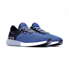 09385-Lightweight Sport Trainer Shoes With LOGO-Blue