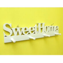 THE OLIVE HOUSE - Gantungan Sweet Home Tanpa Papan White
