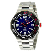 Orient STI M-Force Diving Sports Automatic Limited Edition Blue Dial [SEL07003D] Silver