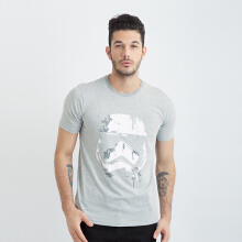 ONE HOURS Star Wars T-Shirt Men - Grey