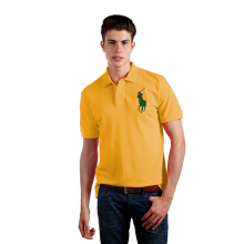POLO RALPH LAUREN - Lacoste Mesh Polo Shirt Orange Blossom Men