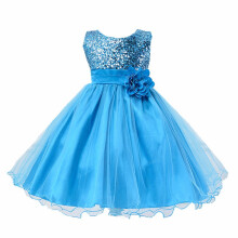 BESSKY Toddler Baby Girls Bling Sequins Sleeveless Tutu Princess Dress Outfits Clothes_
