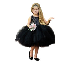 BESSKY Toddler Kids Baby Girl Heart Sequins Party Princess Tutu Tulle Dress Outfits_