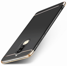 Smatton Case hp Huawei Nova 2i 3 in 1 Luxury Electroplate Ultra Thin Hybrid Shockproof Case Cover Shell