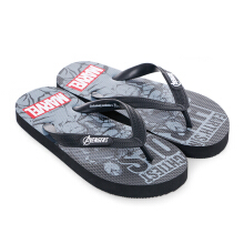 MARVEL Avengers Earth's Mightiest Heroes Flip Flops for Kids AVJD010 – Black
