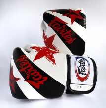 FAIRTEX Boxing Gloves NP WhiteNationPrint BGV1-NP