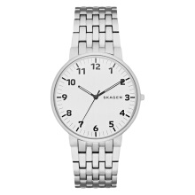 Skagen Ancher Silver Dial Stainless Steel Man Watch [SKW6200]