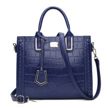 Fashionmall Women's New Fashion Stone Grain Elegant Handbag Shoulderbag