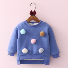 BESSKY Toddler Kids Baby Girls Clothes Long Sleeve Warm Pullover Tops T-Shirt Blouses _
