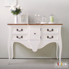 LIVIEN Furniture - Meja Konsol Provence White