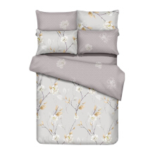 GRAPHIX Raiden Bedsheet Set Queen Fitted - 160 x 200 x 40 cm