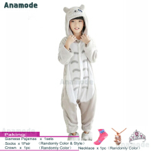 Anamode Size 100~140 Kids Cartoon Clothes Parent-Child Homewear Siamese Pajamas Suit -Totoro -