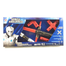 Toy Addict Star Light Sword Combine Set Type 371 - 5875559 - Red