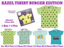 Kazel Tshirt Burger Edition