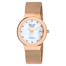 Alexandre Christie AC 2607 LD BRGMS Ladies Mother of Pearl Dial Rosegold Stainless Steel [ACF-2607-LDBRGMS] Rose Gold