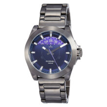 Diesel ARGES Analog Blue Dial Strainless Steel Strap Watch [DZ1698] Silver