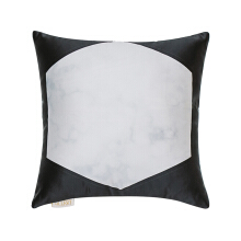 GLERRY HOME DÉCOR Onyx Hex Cushion - 40x40Cm