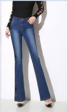 Fashionmall Gamiss Women'S Autumn Winter High Waist Fitted Denim Jeans