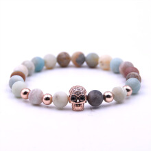 TUTU And Co. SKULL CANDY ROSE GOLD BRACELET