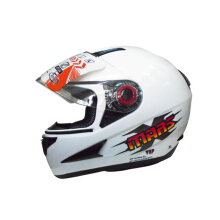OXY Mars Solid white Helmet Half Face