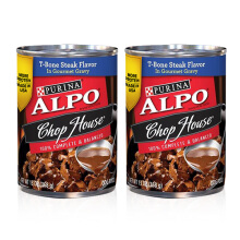 ALPO Chop House T Bone Steak 13 Oz [2 Pcs]