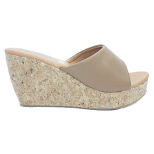 Dr. Kevin Women Wedges Sandals 27376 - Mocca/Cream