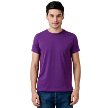 STYLEBASICS Men's Round Neck Basic T-shirt - Purple