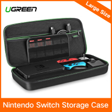 UGREEN Case for Nintendo Switch, Digital Storage Bag Shockproof Travel Carrying Case Bag Shell Pouch with Carved Liner for Switch Console Dock, Big Size