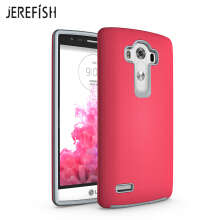 JEREFISH Shockproof LG G4 Case with Antiskid of Heavy Duty Full Protective Anti-Scratch Dual Layer Rugged Cover