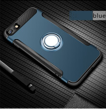 Keymao Apple iPhone 7 Plus/8 Plus Case Kickstand Ring TPU hard phone cover soft shell plastic back cover