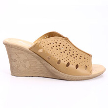 Dr. Kevin Women Wedges Sandals 27227 - Tan