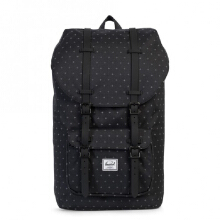 HERSCHEL Little America Backpack 10014-01577-OS (25L) - Black Gridlock