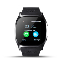 Jantens T8 Bluetooth Smart Watch Support SIM TF Card LBS Locating with 0.3MP camera smartwatch Sports Wristwatch for Android