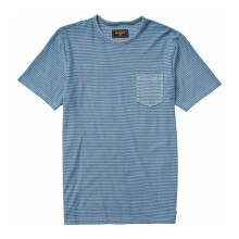 BILLABONG Stringer Ss Crew - Powder Blue