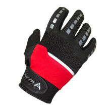 INVENTZO Defender Sarung Tangan Motor Full Finger - Black/Red