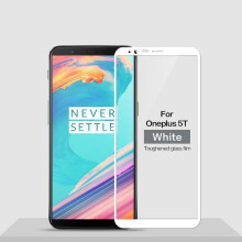 VEN OnePlus 5T Full Screen Tempered Glass High quality silicone Edge to Edge Screen Protector Film
