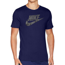 NIKE As M Nsw Tee Icon Futura - Binary Blue/Black