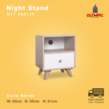 Olympic Curla Series Night Stand - Nakas Scandinavian Style